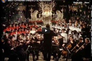 J.S. Bach – Christmas Oratorio – Harnoncourt, Conductor