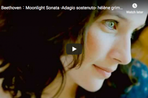 Beethoven – Moonlight Sonata No 14 (1st movement) – Grimaud, Piano