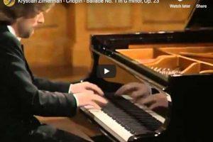 Chopin – Ballade No. 1 – Krystian Zimerman