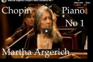 Chopin – Piano Concerto No. 1 – Martha Argerich