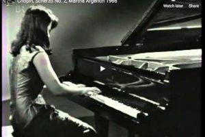Chopin – Scherzo No. 2 – Argerich, Piano