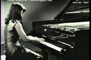 Chopin – Scherzo No 2 in B-Flat Minor – Argerich, Piano