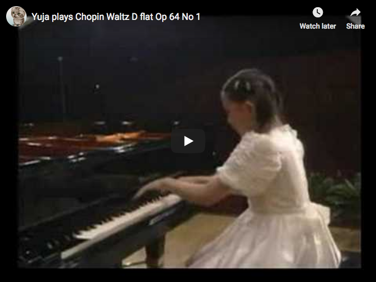 Chopin - Waltz No 6 in D-flat major - Yuja Wang, Piano