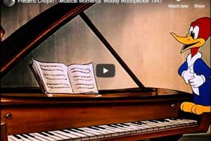 Chopin's Musical Moments – Andy Panda, Woody Woodpecker
