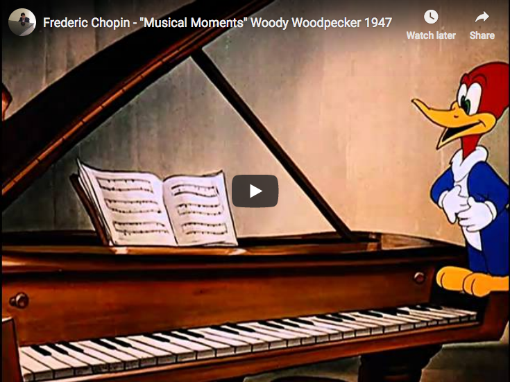 Chopin's Musical Moments - Andy Panda, Woody Woodpecker