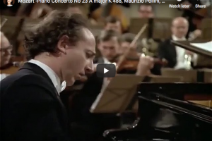 Mozart – Piano Concerto No 23 in A major – Pollini, Bohm
