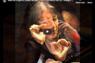 Mozart - Piano Concerto No. 25 - Martha Argerich