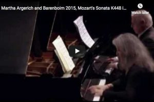 Mozart – Sonata for Two Pianos (finale) – Argerich, Barenboim