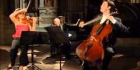 Mozart – Trio No 5 in C major – Mutter; Müller-Schott; Previn