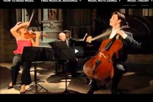 Mozart – Trio No. 5 – Mutter; Müller-Schott; Previn