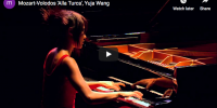 Mozart-Volodos – Turkish March – Yuja Wang, piano