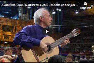 Rodrigo - Concierto de Aranjuez - Adagio - Williams, Guitar
