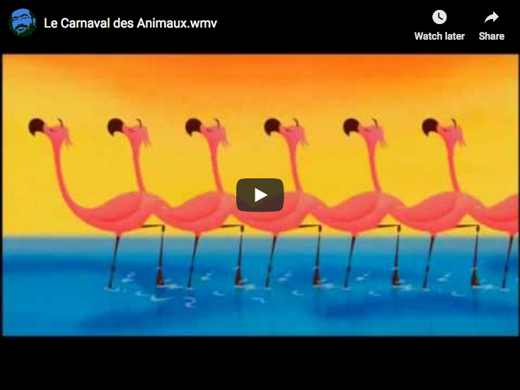 From Disney's Fantasia 2000, Saint-Saens's The Carnival of the Animals, 14th and last piece