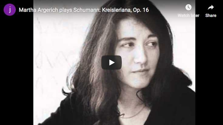 Schumann - Kreisleriana - Argerich, Piano