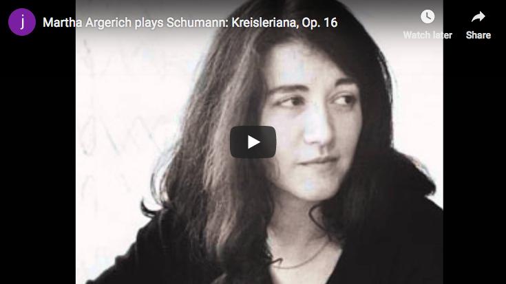 Martha Argerich plays Schumann's Kreisleriana