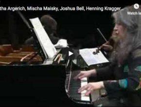 Argerich, Bashmet, Maisky, Kraggerud, Bell play Shostakovich's Quintet