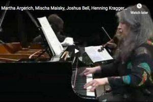 Shostakovich – Piano Quintet – Argerich, Bashmet, Maisky, Kraggerud, Bell