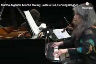 Shostakovich - Piano Quintet - Argerich, Bashmet, Maisky, Kraggerud, Bell