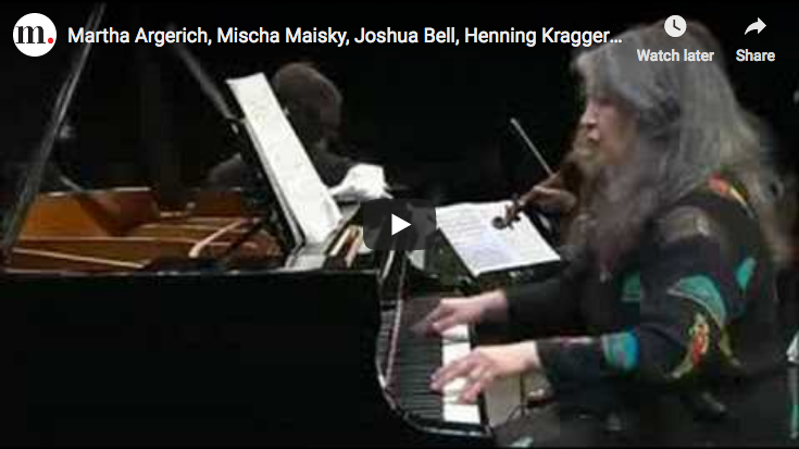Shostakovich - Quintet - Argerich, Bashmet, Maisky, Kraggerud, Bell