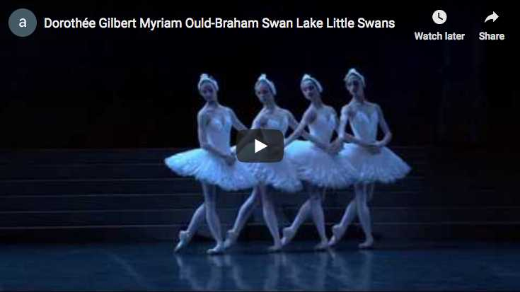The Danse des Petits Cygnes from Tchaikovsky's ballet, Swan Lake