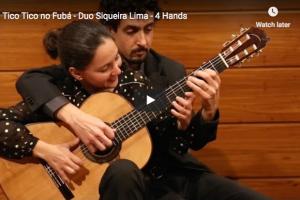 Abreu – Tico-Tico no Fubá – Siqueira Lima Duo, Guitar