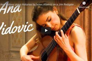 Albéniz – Asturias (Leyenda) – Vidović, Guitar