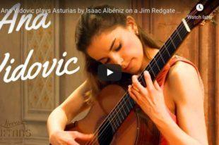 Albéniz - Asturias (Leyenda) - Vidović, Guitar