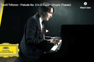 Chopin - Prelude No 3 in G major - Trifonov, Piano