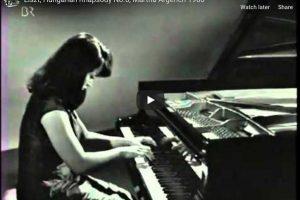 Liszt – Hungarian Rhapsody No. 6 – Argerich, Piano
