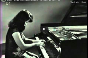Liszt – Hungarian Rhapsody No 6  in D-Flat Major – Argerich, Piano