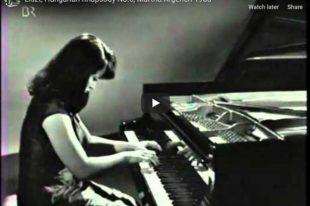 Liszt - Hungarian Rhapsody No 6  in D-Flat Major - Argerich, Piano