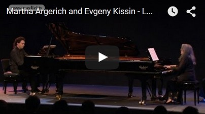 Lutoslawski – Paganini variations for 2 pianos – Argerich, Kissin
