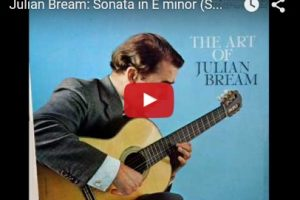 Scarlatti – Sonata in E-Minor K. 11 – Bream, Guitar