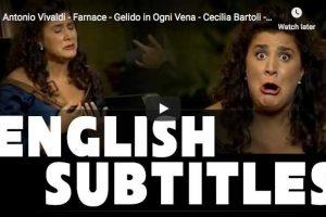 Vivaldi – Farnace – Gelido in Ogni Vena – Bartoli, Mezzo-soprano