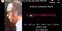 Bach-Busoni – Chorale Prelude in F-minor – Brendel, Piano