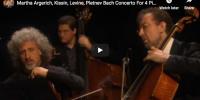 Bach – Concerto For 4 Pianos – Argerich, Levine, Kissin, Pletnev