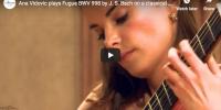 Bach – Fugue BWV 998 in E-flat major – Vidovic, Guitar