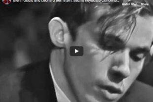 Bach - Harpsichord Concerto No. 1 - Gould; Bernstein