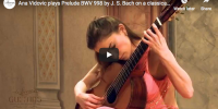 Bach – Prelude BWV 998 in E-flat major – Vidovic, Guitar