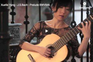 Bach - Prelude in C major BWV 846 - Yang, Guitar