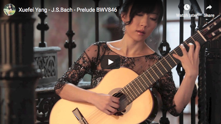Bach - Prelude in C major BWV 846 - Yang, Guitar
