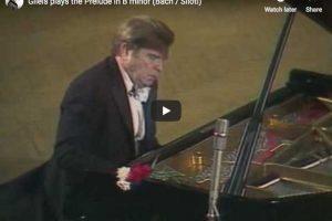 Bach / Siloti – Prelude in B Minor – Gilels, Piano