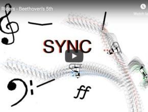 Beethoven's 5th symphony Line Riders