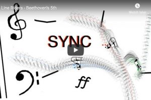 Beethoven – Symphony No. 5 in C Minor – Line Riders