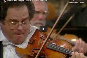 Beethoven – Triple Concerto – Perlman, Yo-Yo Ma, Barenboim