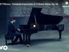 Daniil Trifonov performs Chopin's Fantaisie-Impromptu for piano in C-sharp minor