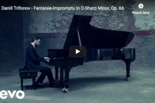 Chopin – Fantaisie-Impromptu in C-Sharp Minor – Trifonov, Piano