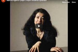 Chopin – Andante Spianato – Argerich, Piano
