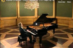 Chopin - Ballade No 2 - Zimerman, Piano