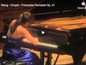Yuja Wang performs Chopin's Polonaise Fantaisie in A-flat major